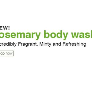 Rosemary Body Wash 236ml